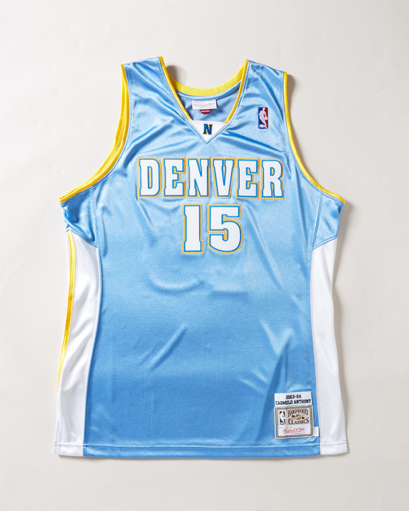 uk availability 03cac 40f6a 2003 DENVER NUGGETS CARMELO ANTHONY AUTHENTIC JERSEY