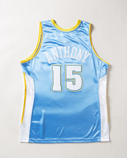 Mitchell & Ness 2003 Denver Nuggets Carmelo Anthony Authentic Jersey Light Blue