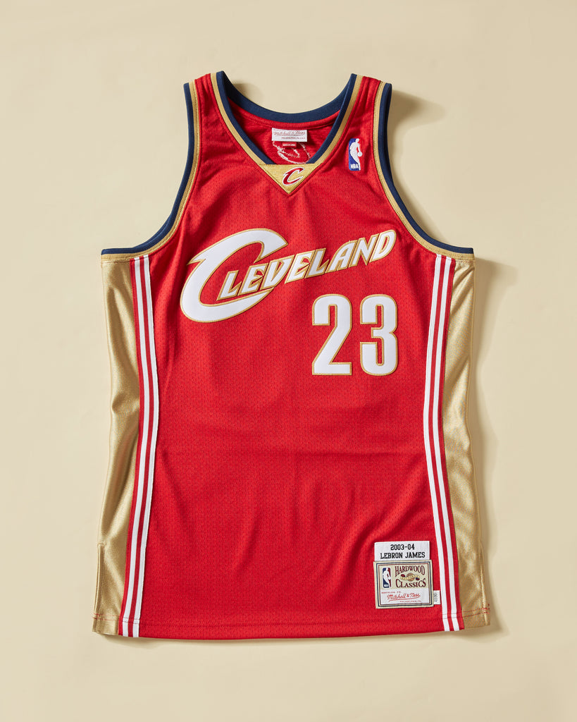 outlet store 7507f 8ddc9 2003 CAVALIERS LEBRON JAMES #23 AUTHENTIC JERSEY