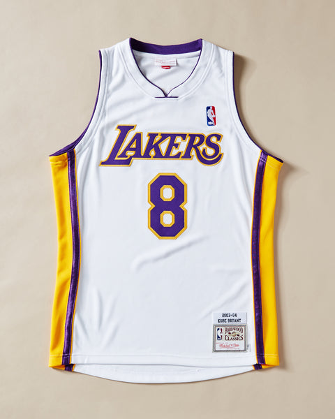 newest ca612 a9508 LOS ANGELES LAKERS AUTHENTIC JERSEY KOBE BRYANT #8