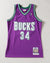 MILWAUKEE BUCKS RAY ALLEN #34 AUTHENTIC JERSEY