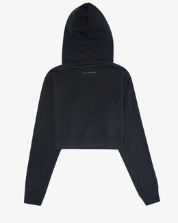 OVER DYED LOGO HOODIE