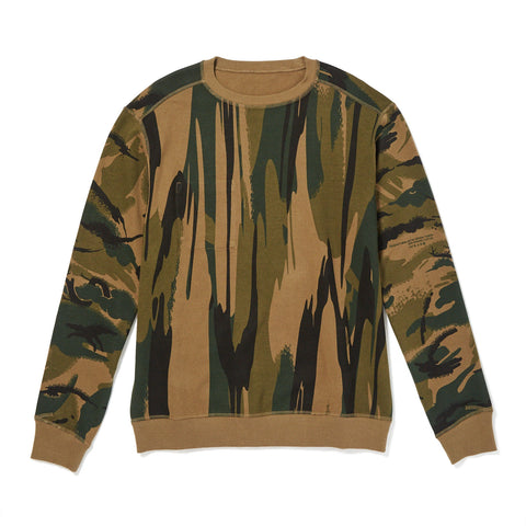 REVERSIBLE CAMO SWEATSHIRT