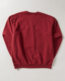 Noon Goons IS Gold Sweatshirt in Burgundy