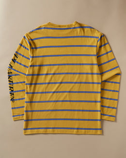 SCREAM STRIPED LONG SLEEVE T-SHIRT
