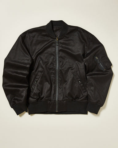 FLIGHT JACKET WITH EMBROIDERY