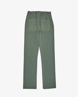 FRENCH TERRY COTTON PANT
