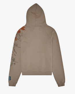 BRANCH EMBROIDERY HOODIE