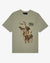 HUNTING DOGS PAINTING T-SHIRT