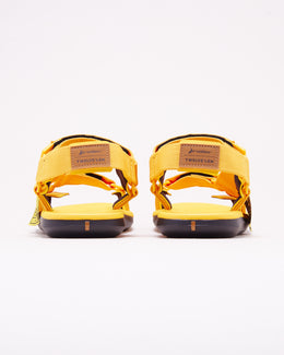 Rider Sandals x Twelve'len Sandal in Yellow/Black