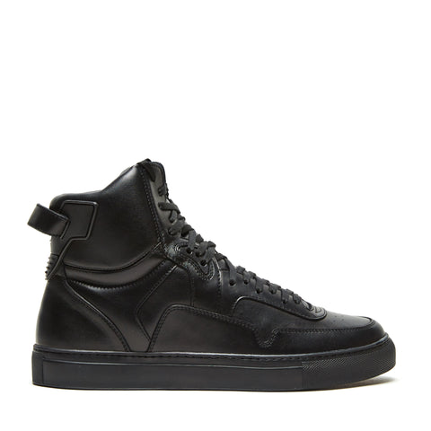 TYPE ONE BLACK LEATHER HIGH TOP