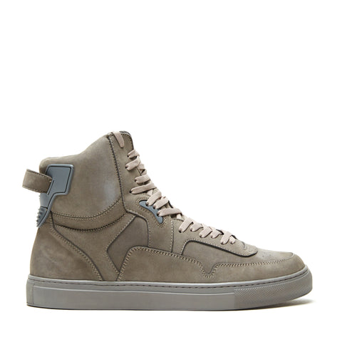 TYPE ONE GREY LEATHER HIGH TOP