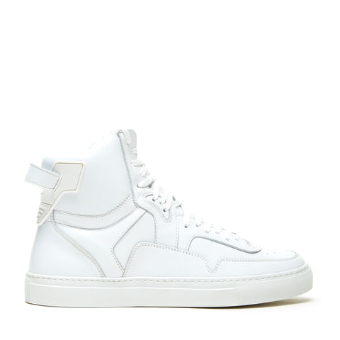 TYPE ONE WHITE LEATHER HIGH TOP