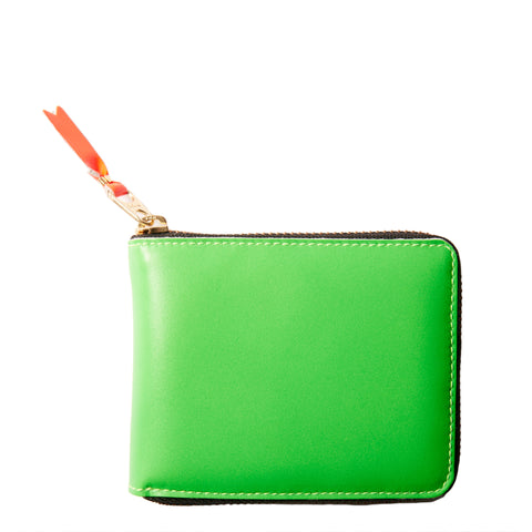 SUPER FLUO LEATHER WALLET