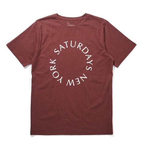 SATURDAYS CIRCLE T-SHIRT