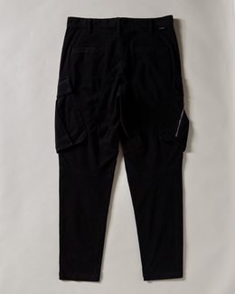 Stone Island Men's Pant in black with cargo pockets