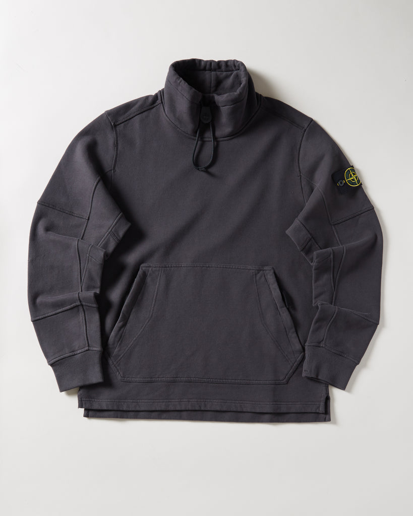 100c4bed6368 STONE ISLAND - FUNNEL NECK SWEATSHIRT – UNKNWN