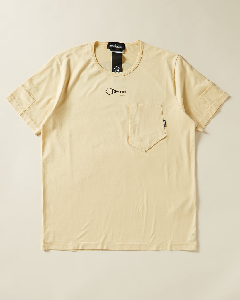 02ac4350dc65 STONE ISLAND - T-SHIRT WITH CHEST POCKET – UNKNWN