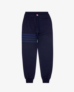 SWEAT PANT IN TONAL 4 BAR LOOPBACK