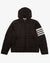 4 BAR STRIPE DOWNFILL QUILTED HOODED JACKET