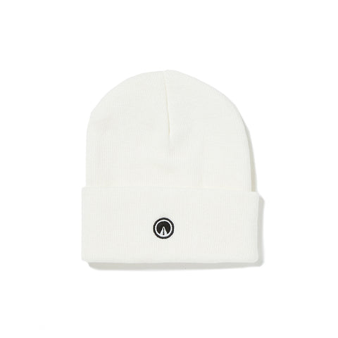 CLASSIC CUFF BEANIE WITH THE PATH EMBROIDERY