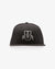 COLLEGIATE BLACK SNAPBACK