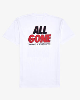 ALL GONE X UNKNWN MJ COVER TEE