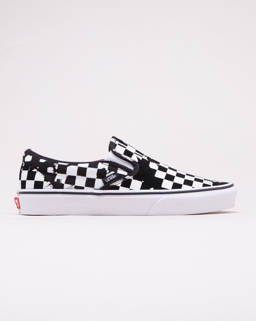 f9186a2547 VANS - CLASSIC SLIP-ON OVERPRINT CHECK – UNKNWN