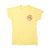 BEACH BOYS T-SHIRT, YELLOW