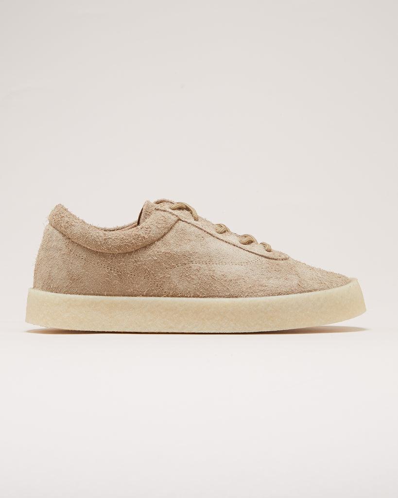 a5eb2558a499f YEEZY SEASON 6 - CREPE SNEAKER IN THICK SHAGGY SUEDE - Tan – UNKNWN