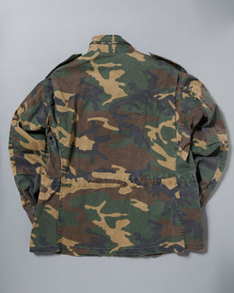 Yeezy Season 4 Camo Print Field Jacket