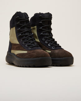MENS SUEDE MILITARY BOOT