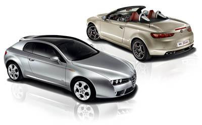 Alfa Romeo Brera & Spider External Parts, Fittings & Publications