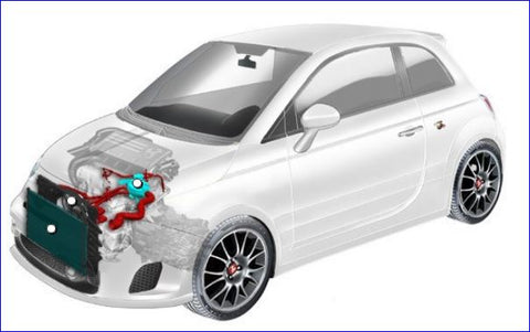 500 Abarth Parts - Cooling System