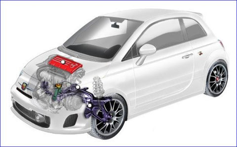 Punto Evo Abarth Parts - Engine