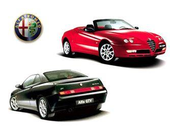 Alfa Romeo GTV & Spider External Fittings & Publications