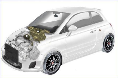 500 Abarth Heating and Air Conditioning system spare parts by Mopar®