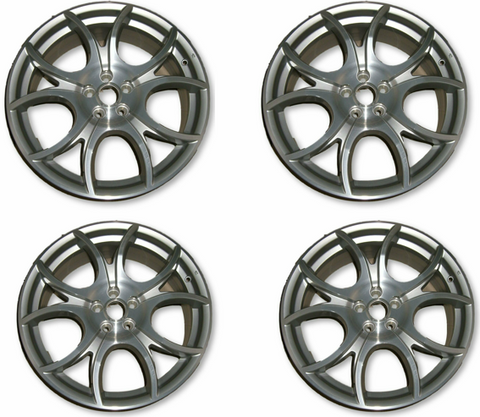 "18"" Alloy Wheel Kit - 147 Blackline"