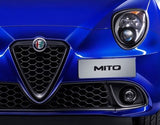 This is a brand new, genuine Alfa Romeo replacement front Grille & Badge to fit the following: Face-lift Alfa Romeo Mito 2016> This has a Gloss Grey inner trim