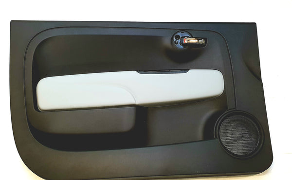 Door Panel - 500 Abarth Black & Grey