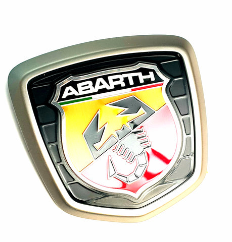Badge, Rear - 500 Abarth Biposto