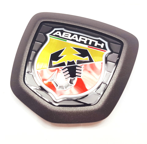 Badge, Front - 124 Abarth