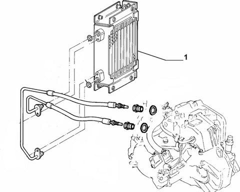 Oil Cooler - Automatic Transmission
