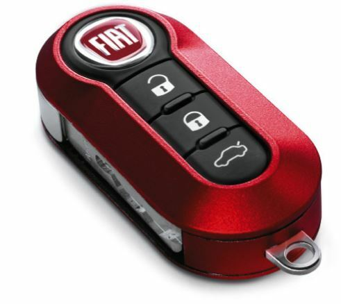 Key Cover Matt Red - Fiat 500/Grande Punto/Punto Evo