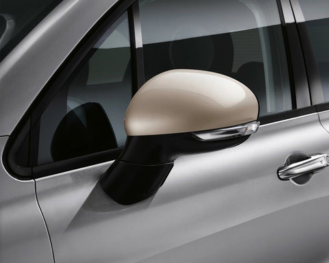 Wing Mirror Caps, Beige -500X