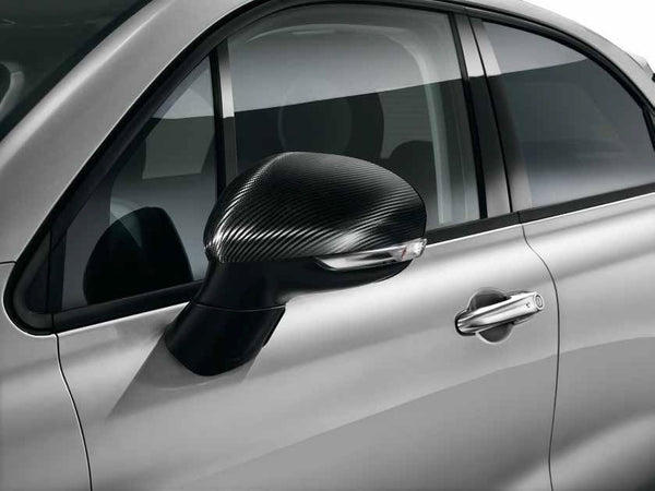 Carbon Wrap Mirror Covers - Fiat 500X 50827547