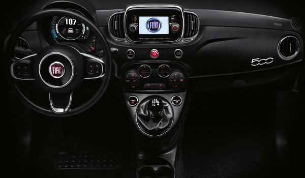 Fiat 500 Micro Carbon Wrapped Dashboard