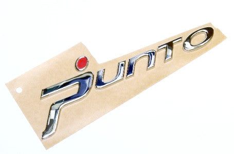 Fiat Grande Punto 'Punto' Badge - Red Dot 51781559
