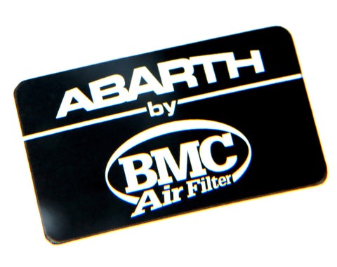Abarth by BMC Air Filter Badge