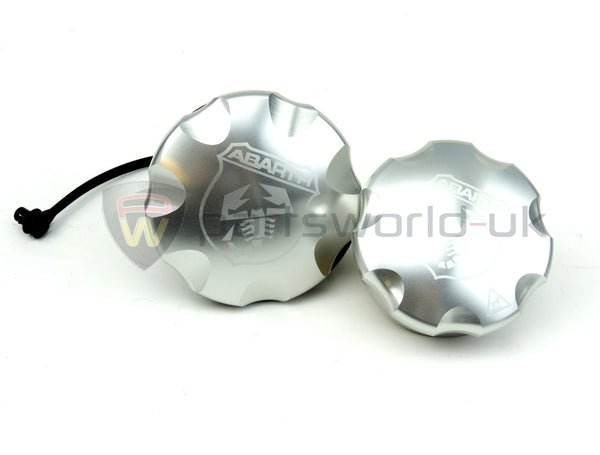 Aluminium Oil& Fuel Cap Set - 500 Abarth 5743825